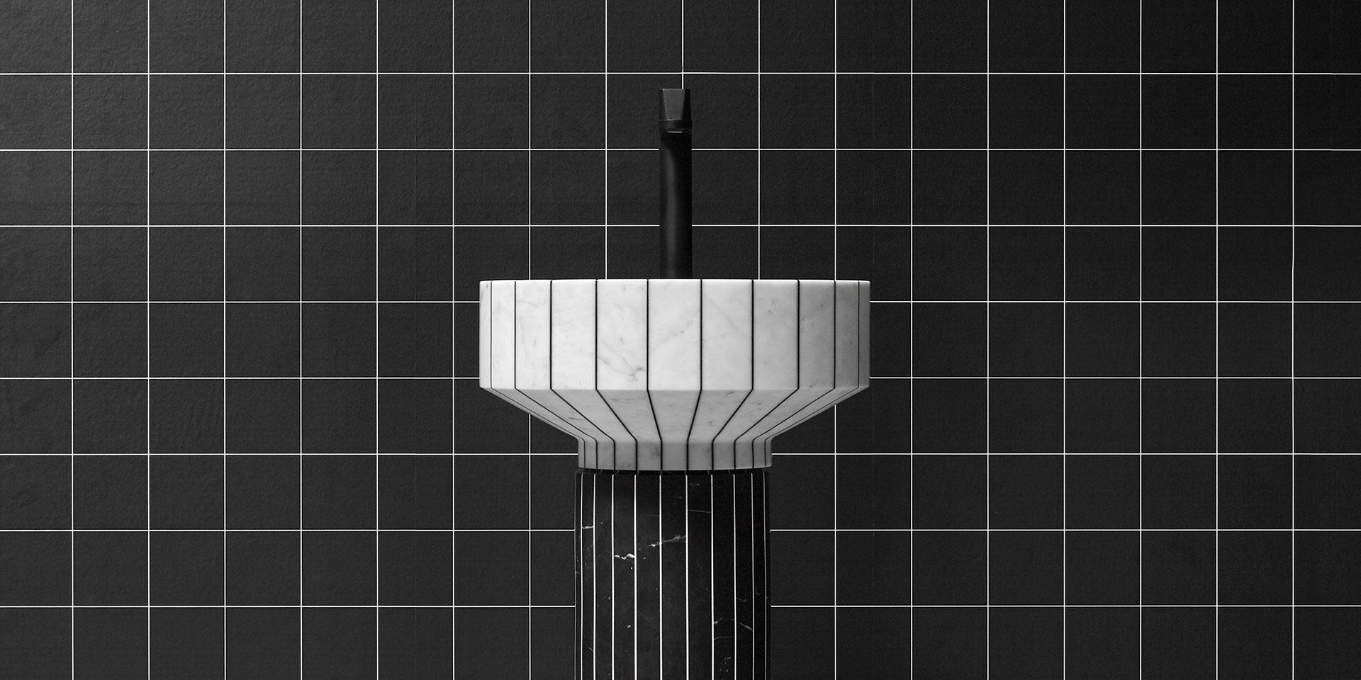 Тренды 2020/2021: мраморный умывальник Gumdesign