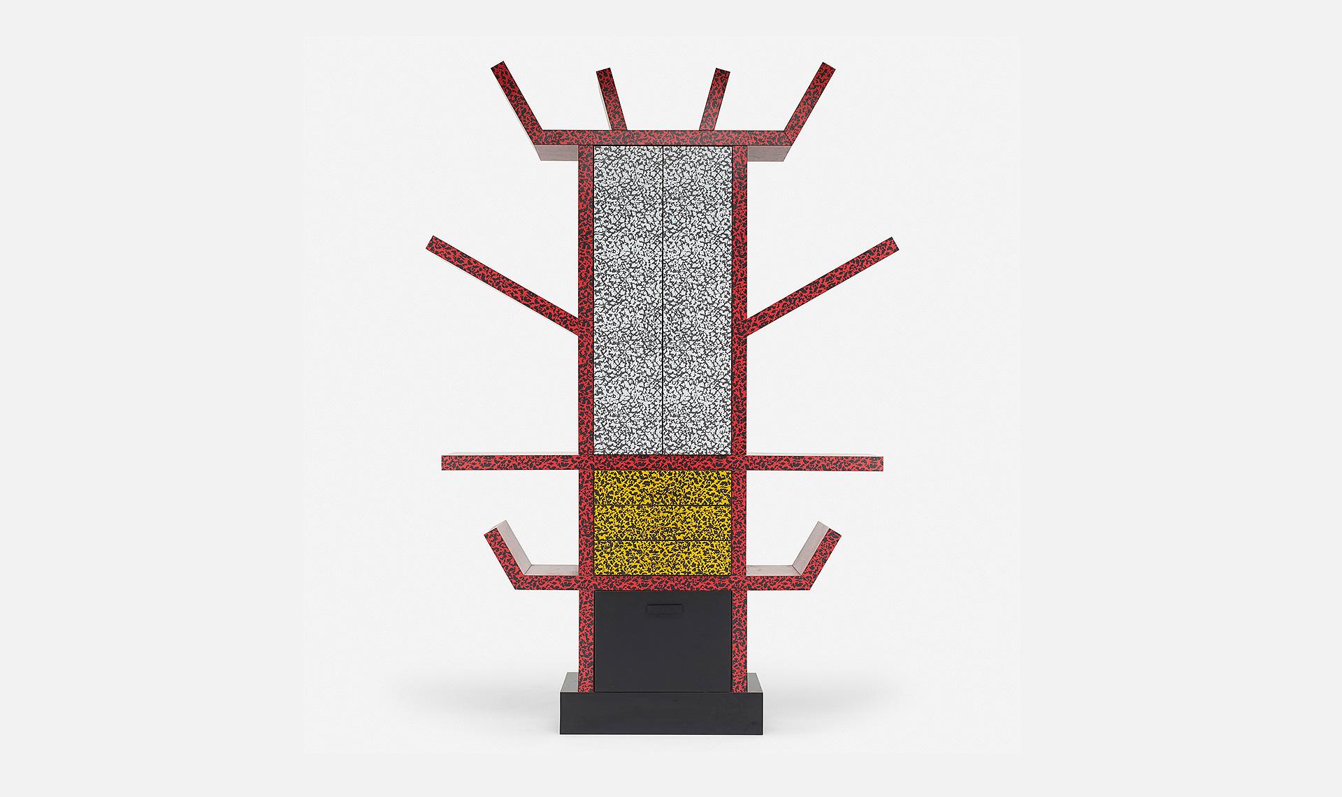 100 лет дизайна: стеллаж Casablanca Этторе Соттсасса