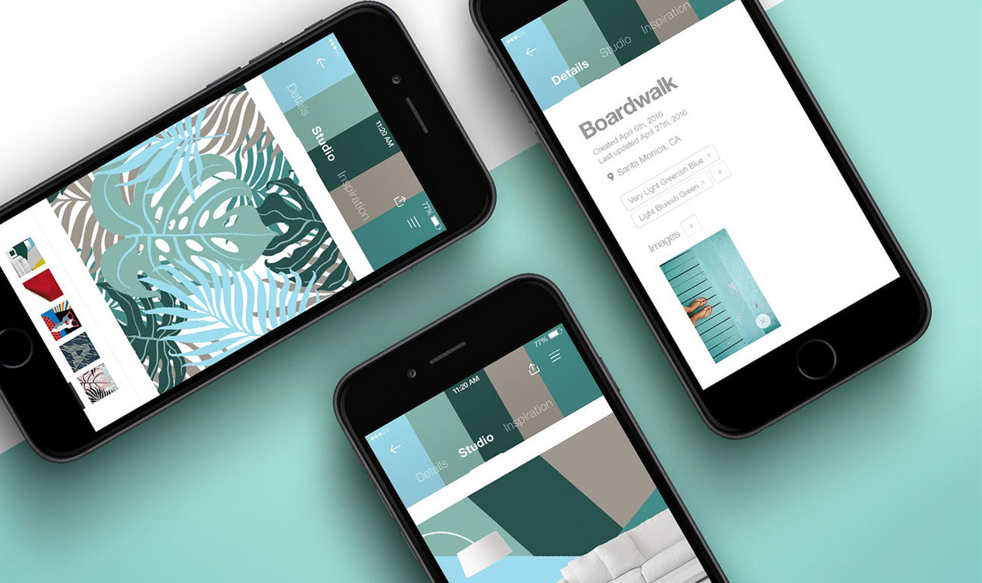 Цвет в интерьере: 5 мобильных приложений