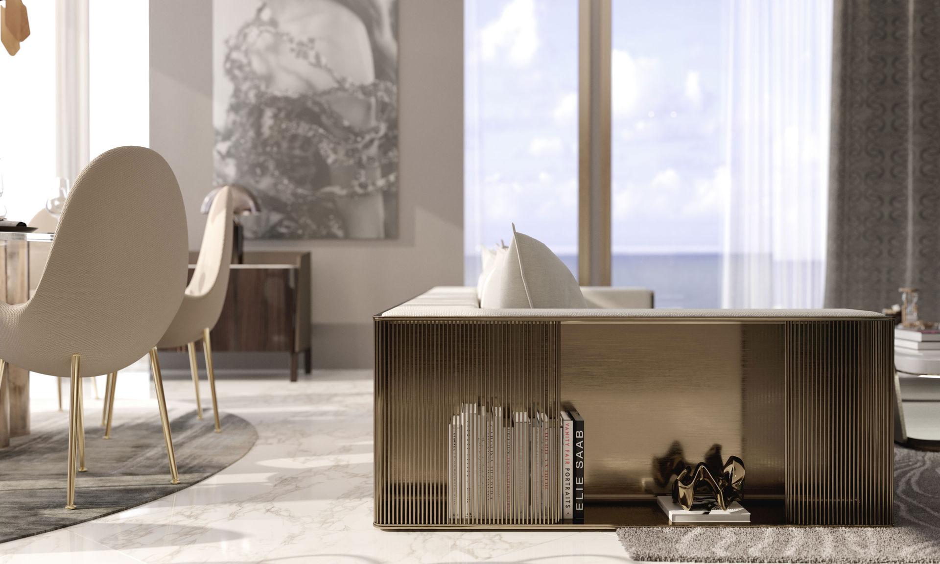 Первая коллекция мебели под брендом Elie Saab