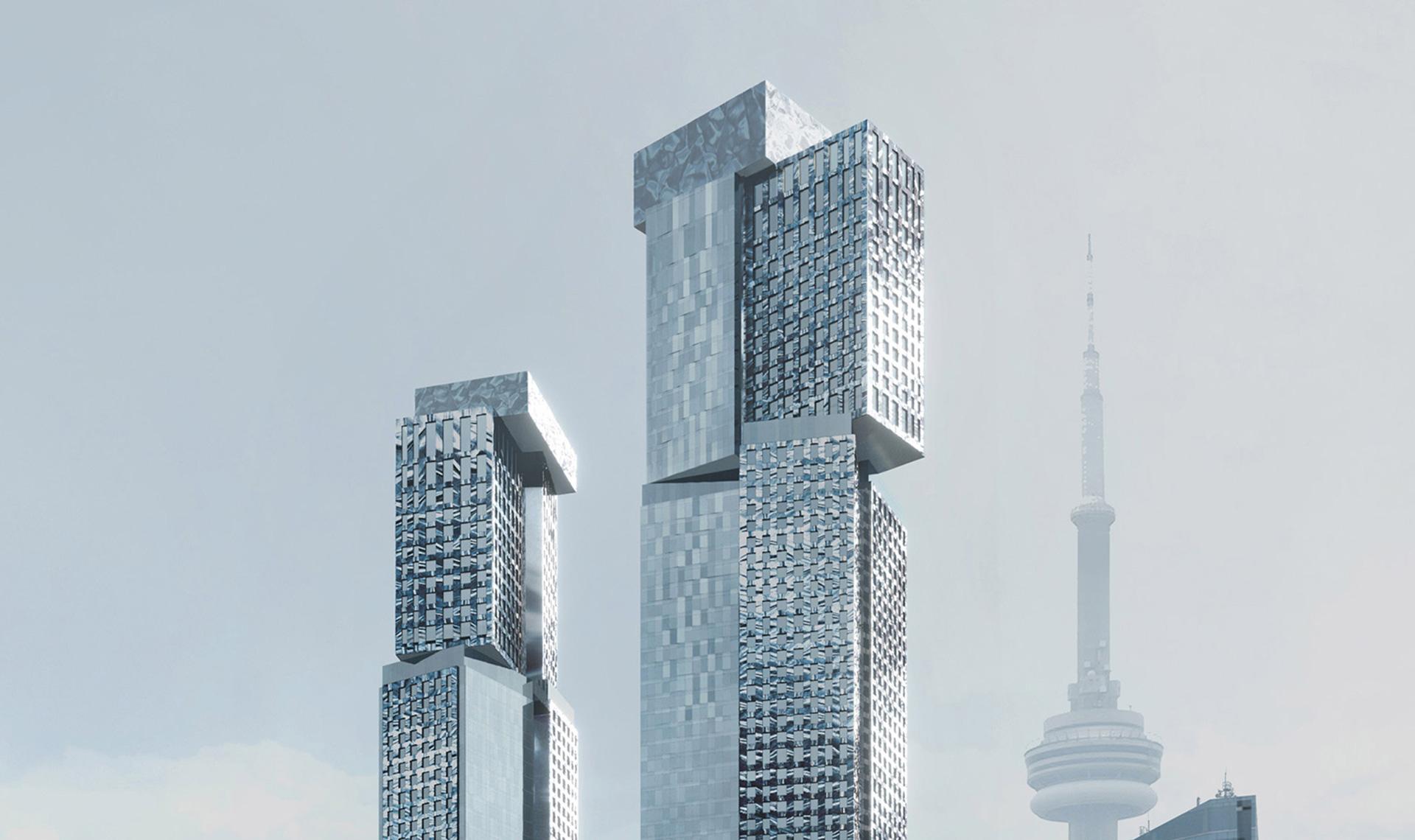 Фрэнк Гери: башни в Торонто