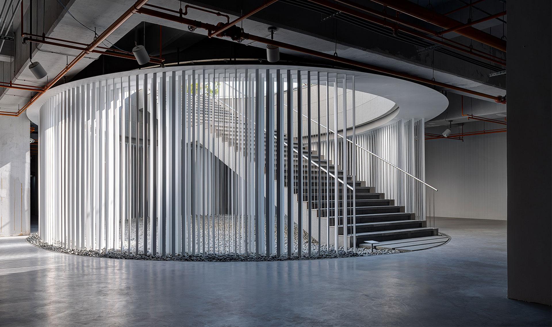 Noiz Architects и Кения Хара: инсталляция в музее на Тайване