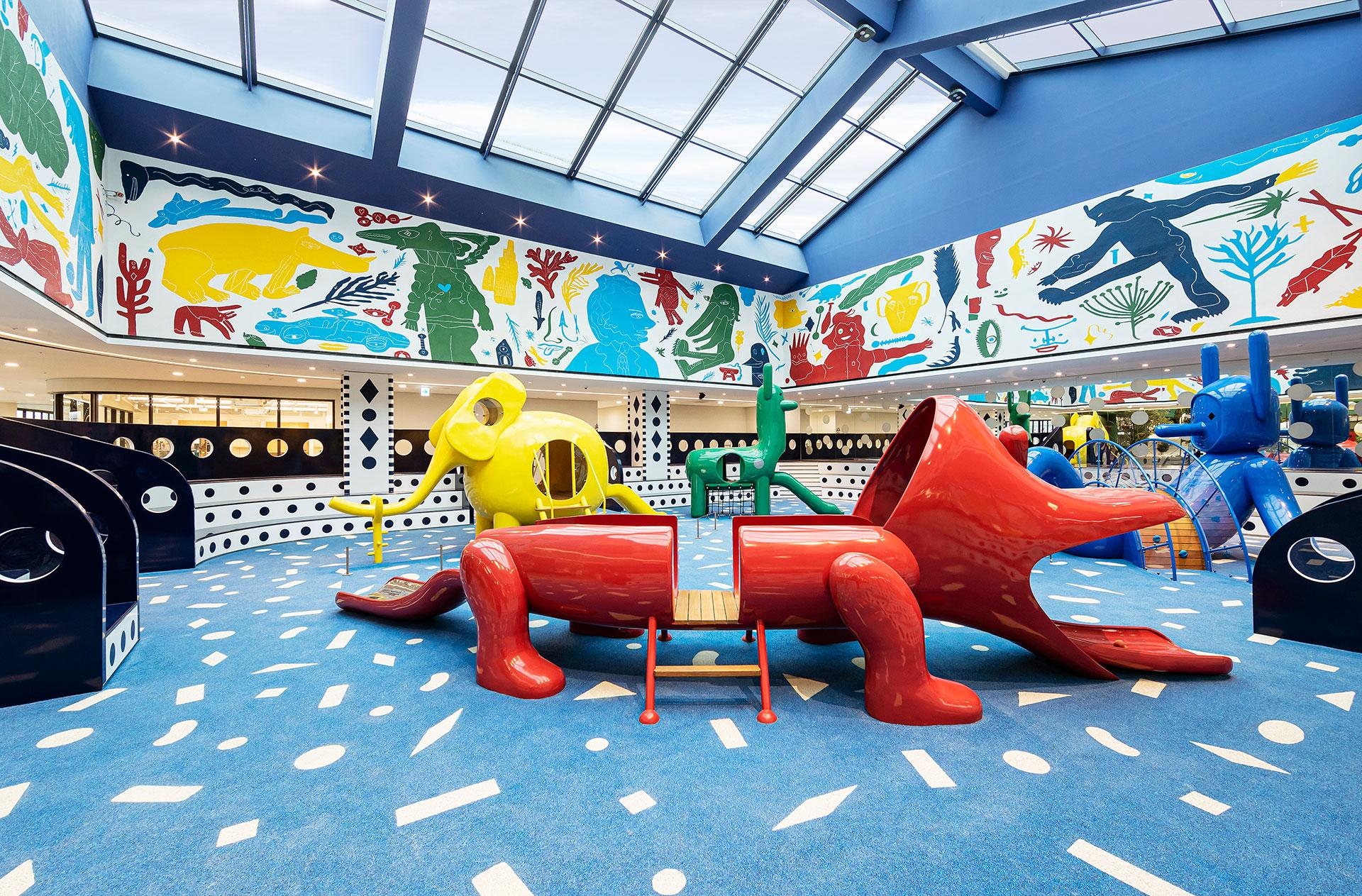 Хайме Айон для Музея детской книги и искусства Hyundai (MOKA)
