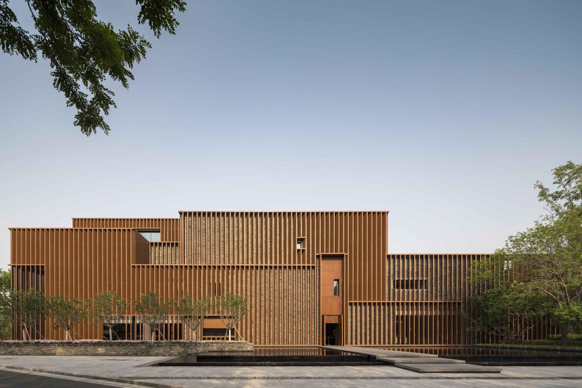 Культурный центр по проекту Neri & Hu в Китае
