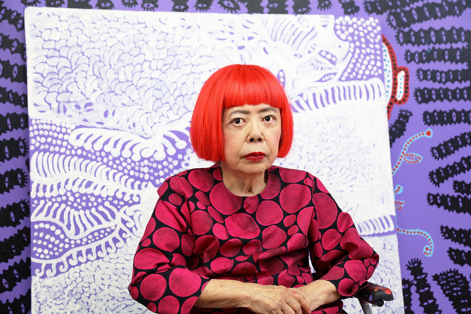 Яёи Кусама и поэма о пандемии