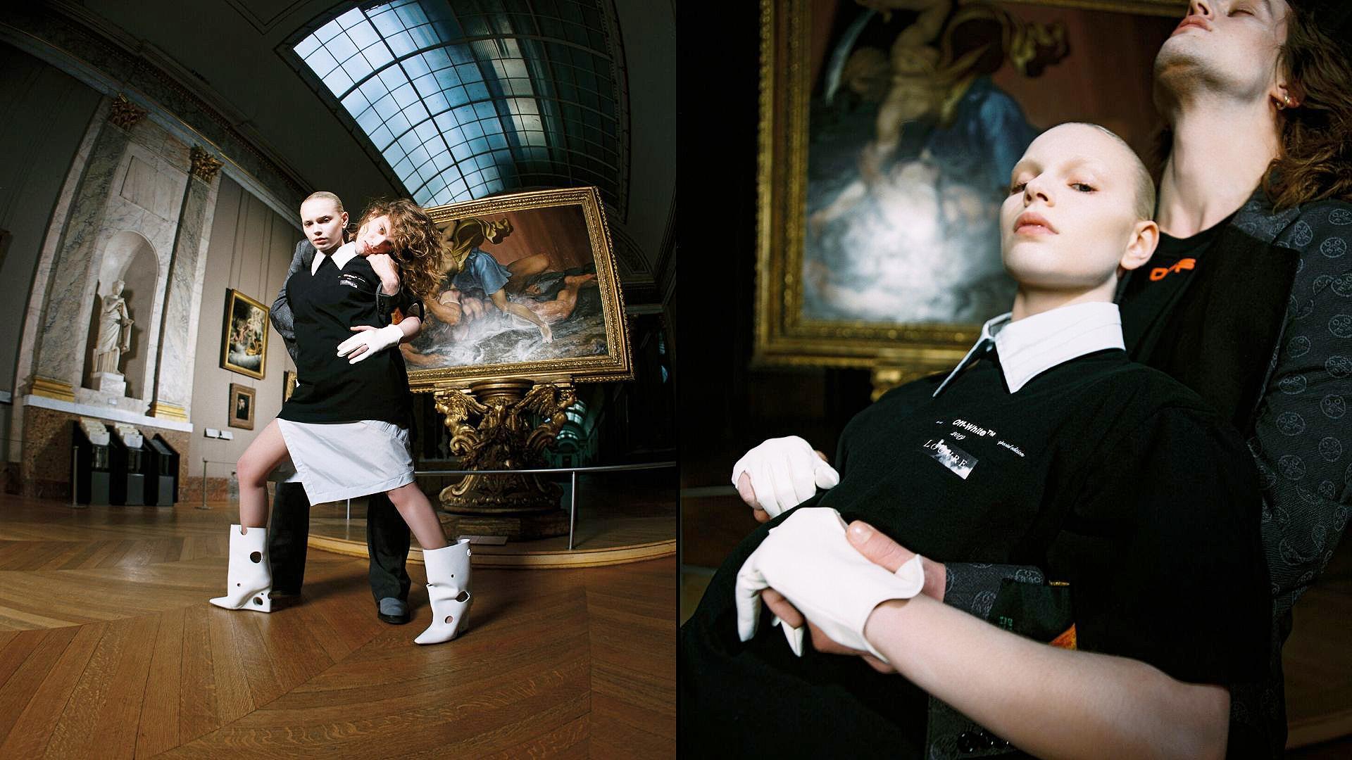 Абло и Да Винчи в Лувре