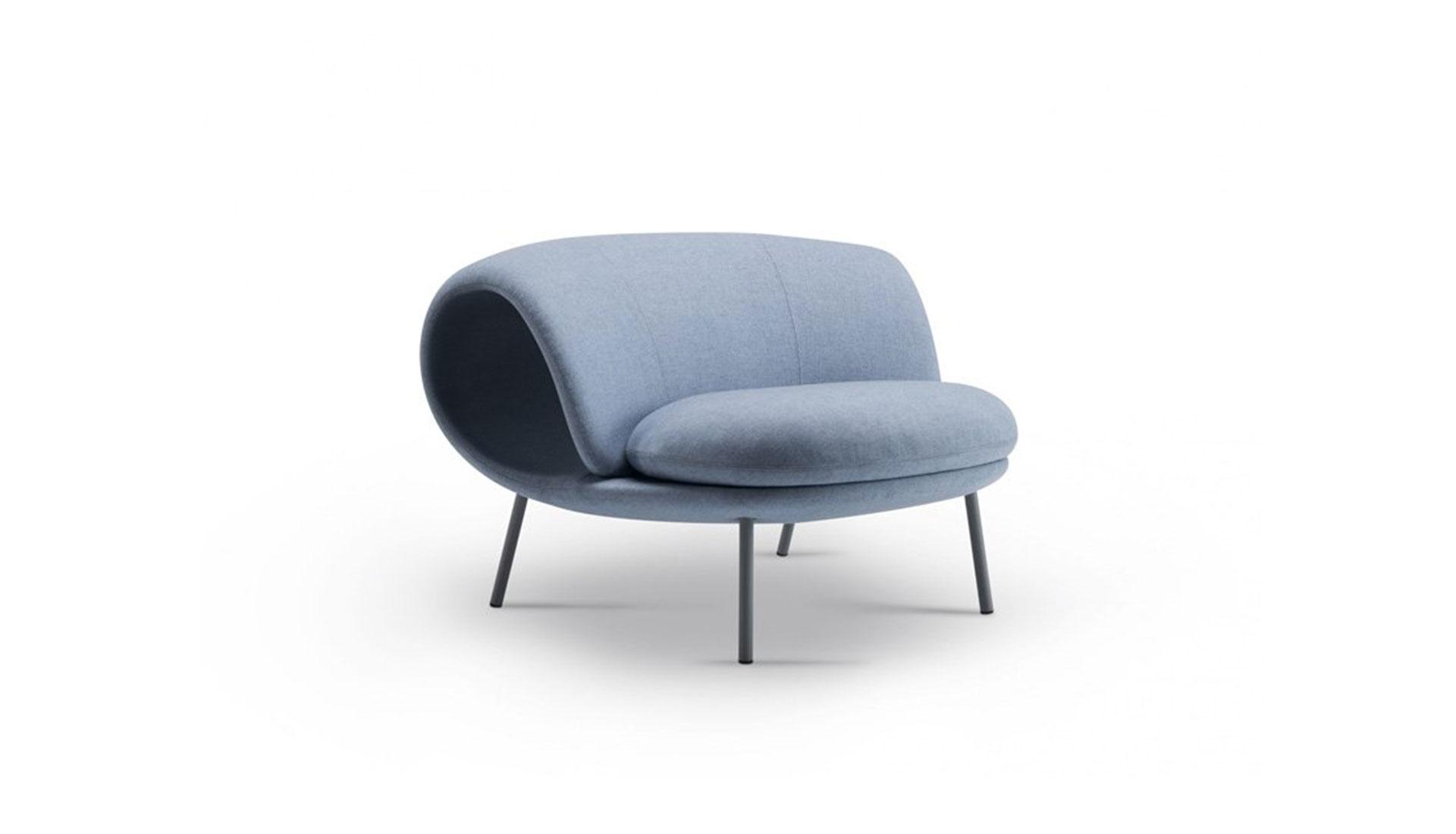 Stockholm Furniture Fair 2020: кресло-ролл Джина Курамото