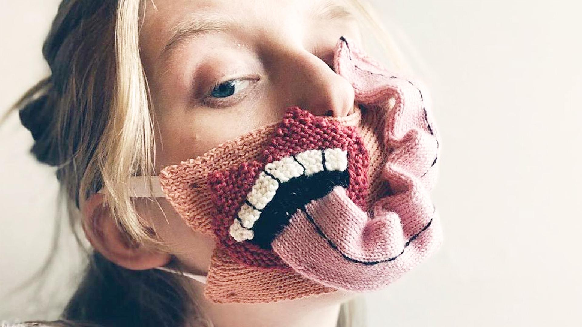 Гротескные маски Ирурари Йоханнсдоттир