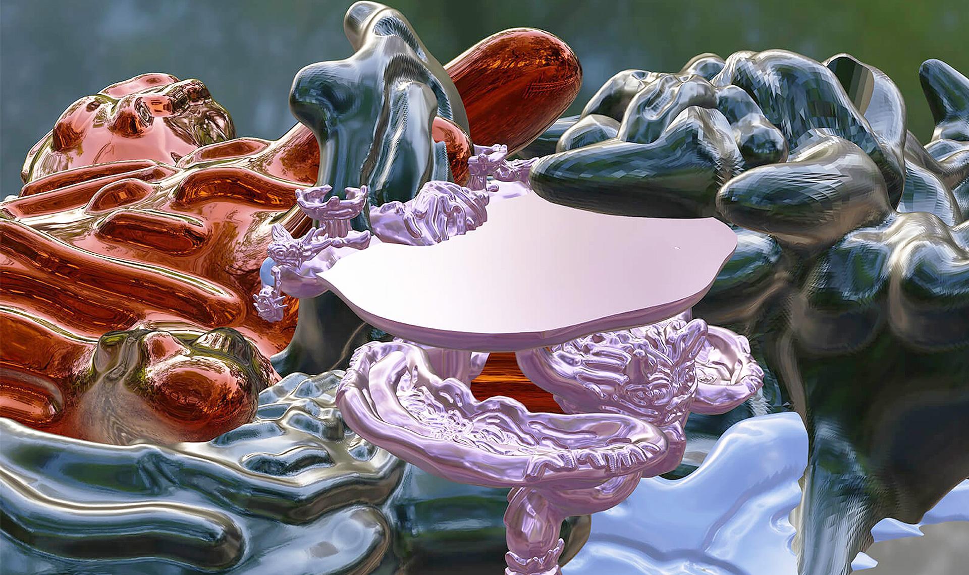 Яркий дизайн в галерее Nilufar