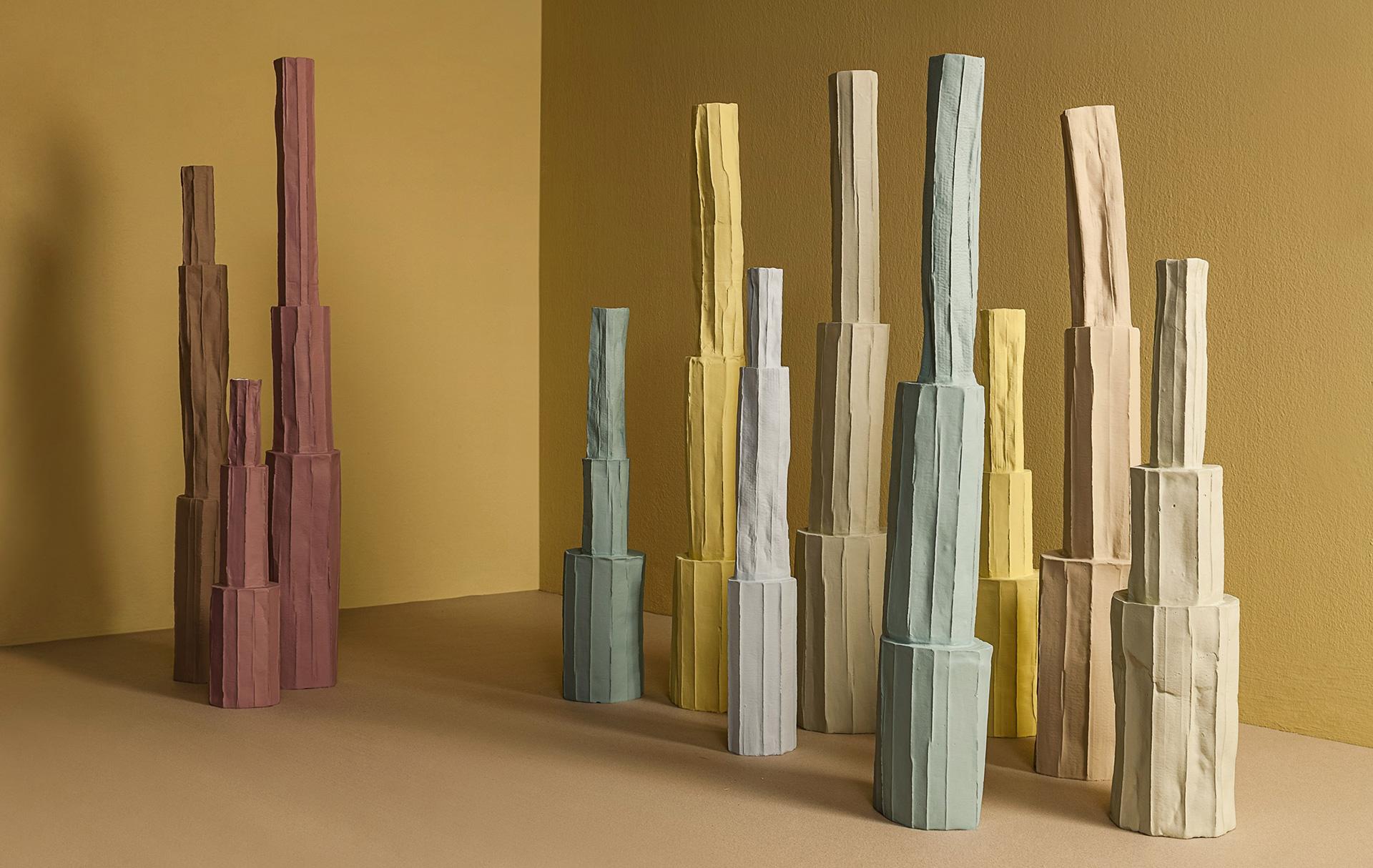 Бумажная керамика Паолы Паронетто