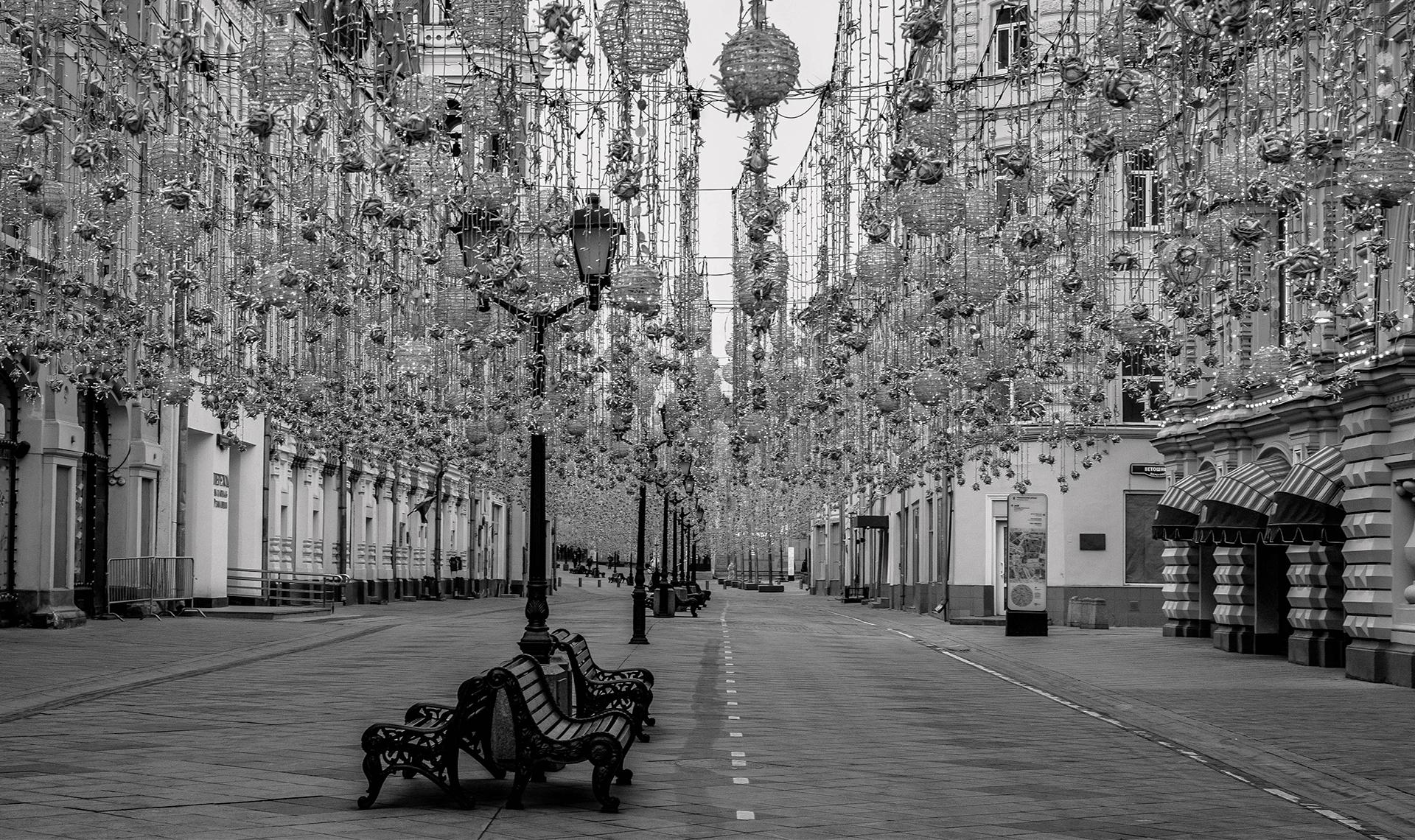 Москва в самозоляции на фотографиях Сергея Пономарева