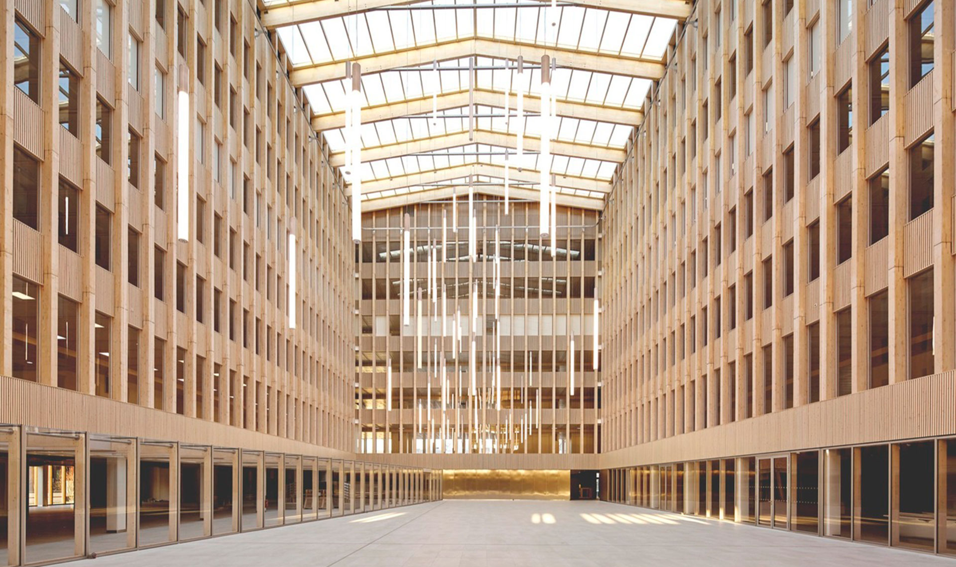 BFV architectes: уютный офис на окраине Парижа
