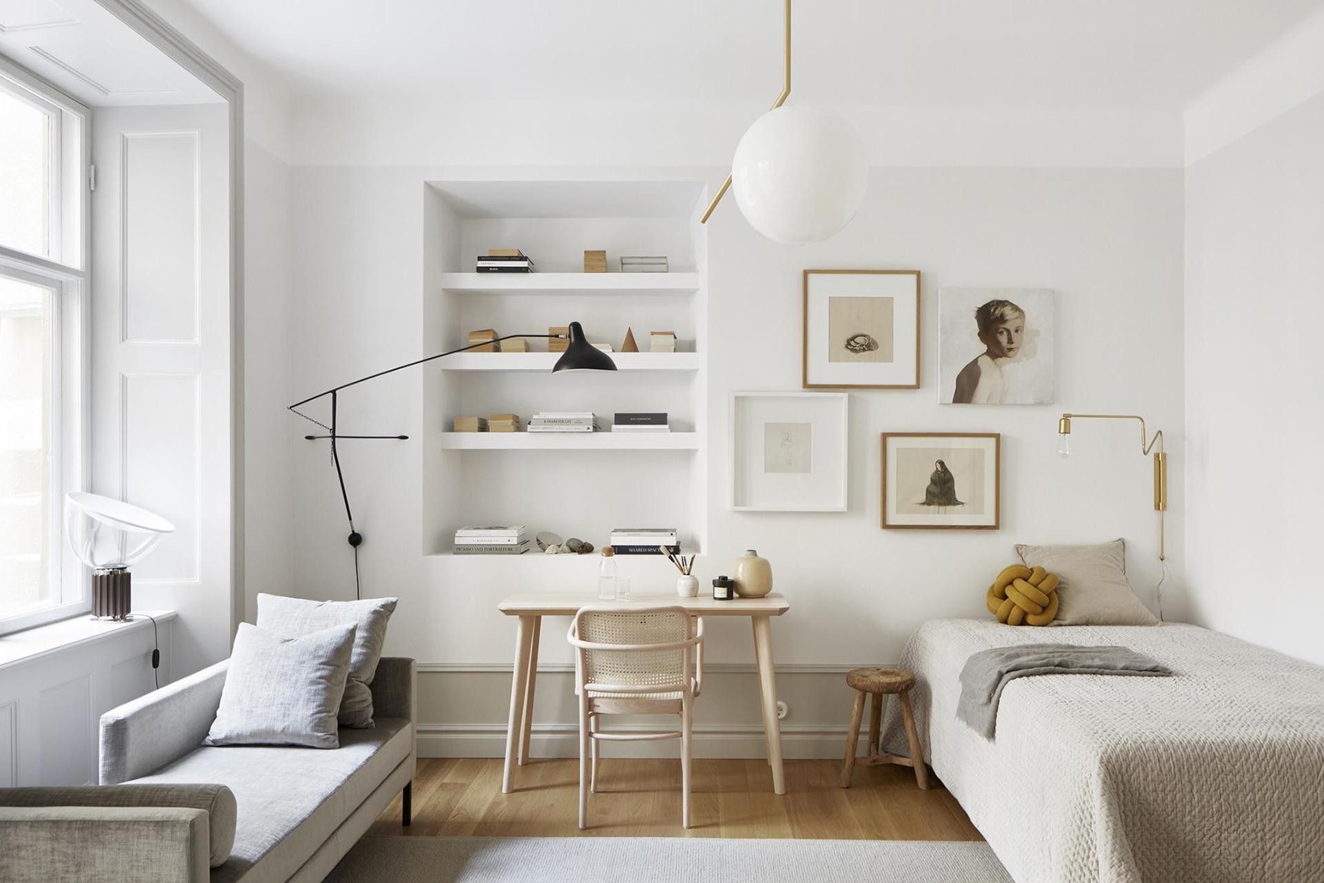 Дизайн однокомнатной квартиры: 35 примеров