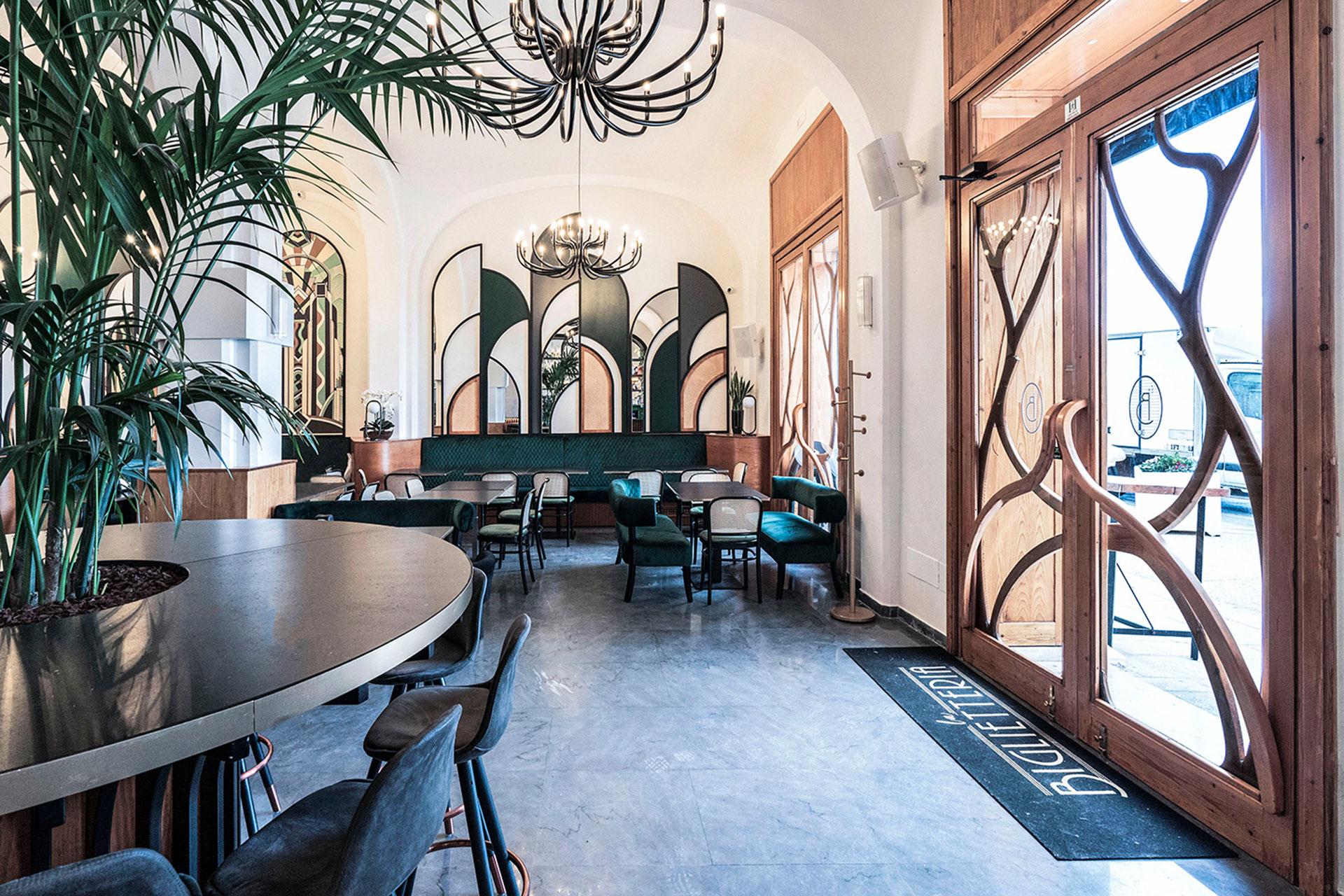 Ресторан в итальянском театре по проекту Studio Small