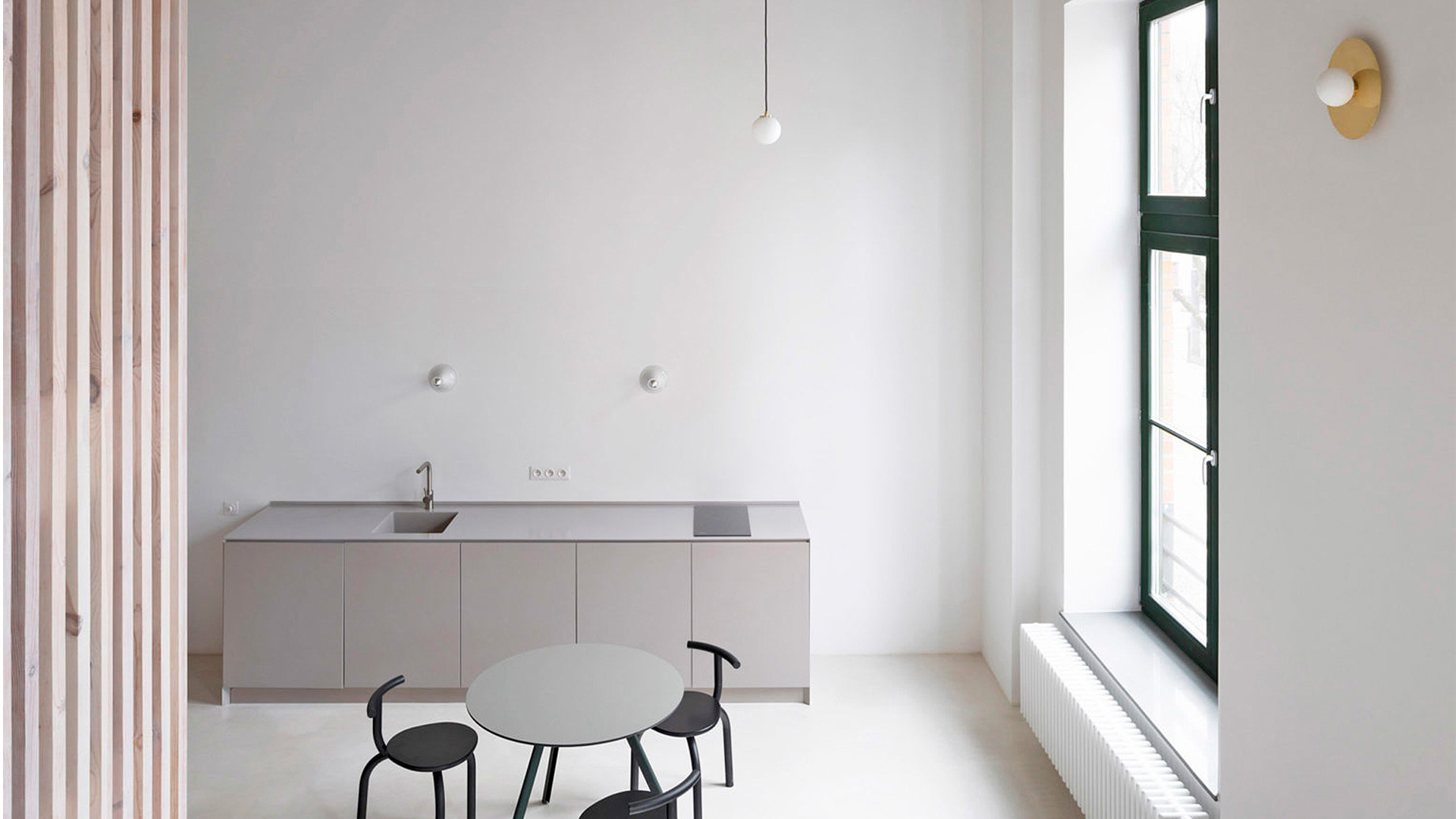 Маленькие квартиры по проекту Thisispaper Studio