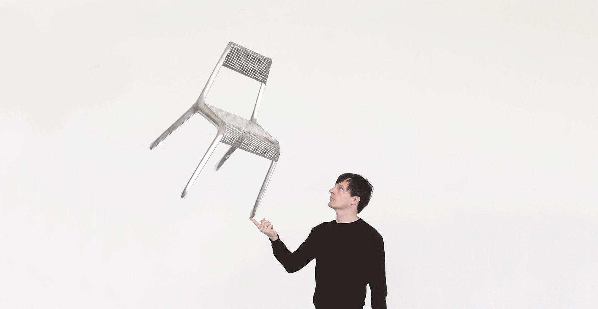 Тренды 2020/2021:  сверхлегкий металлический стул Оскара Зета