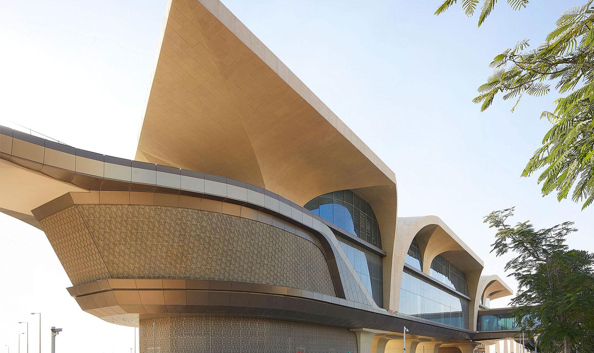 UNStudio: метро будущего в Дохе