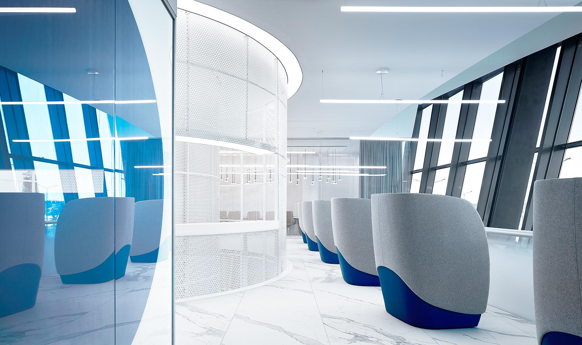 VIP-зал в международном аэропорту по проекту VOX Architects