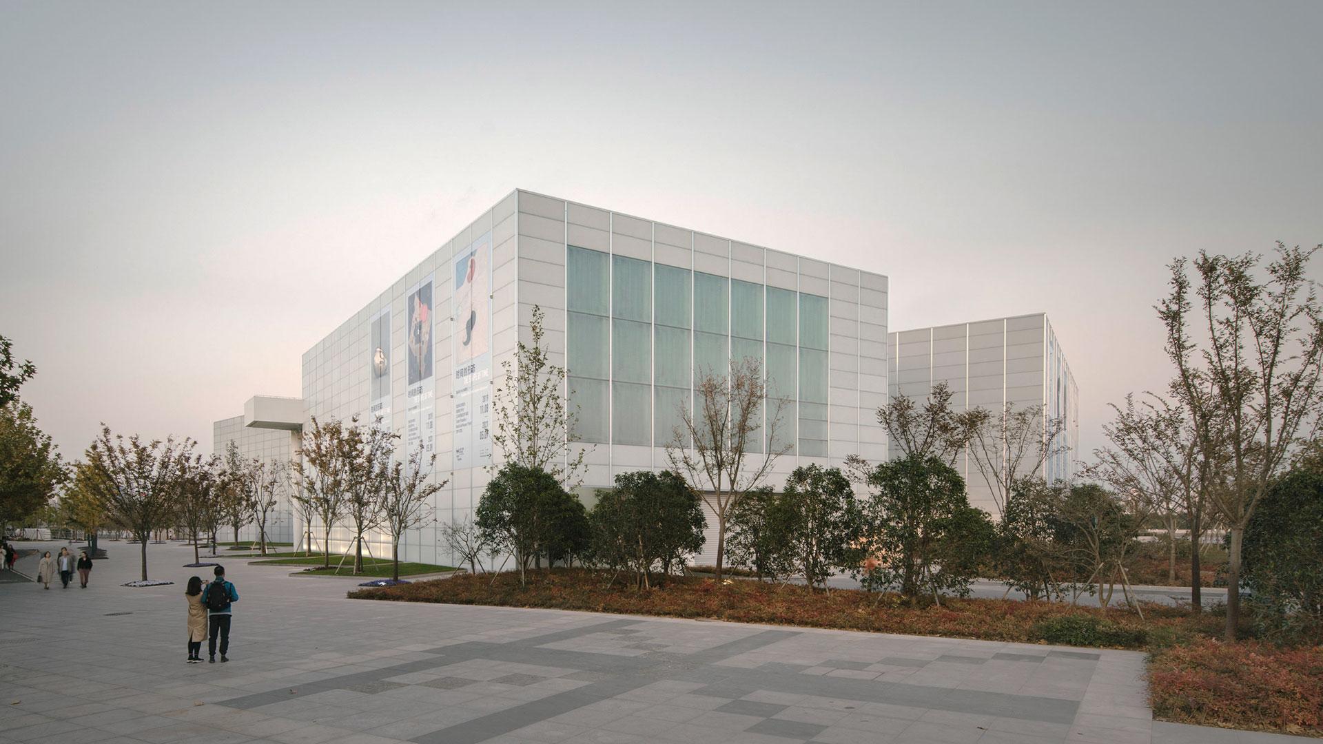 Дэвид Чипперфильд построил филиал Центра Помпиду в Шанхае