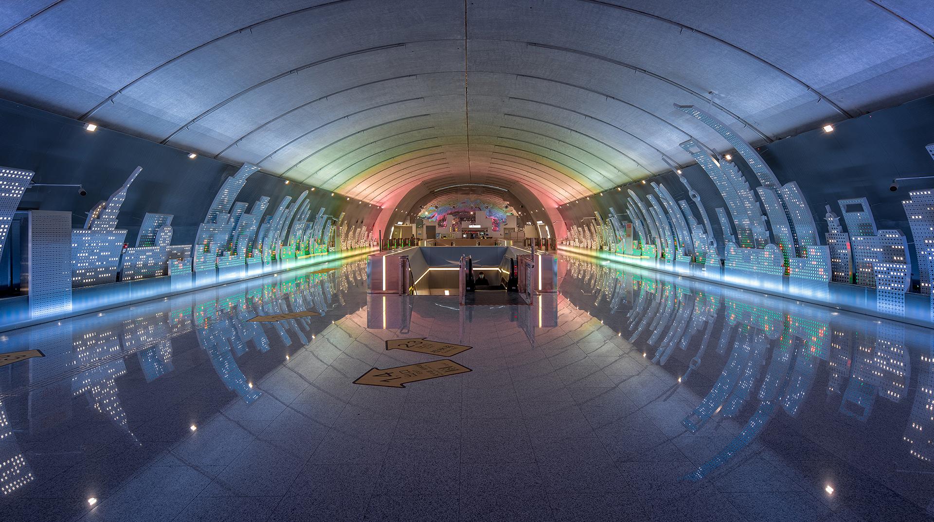 Wutopia Lab: метро в Шанхае