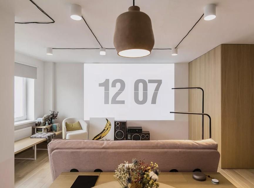 Zrobim architects: квартира 46 кв. метров в Минске