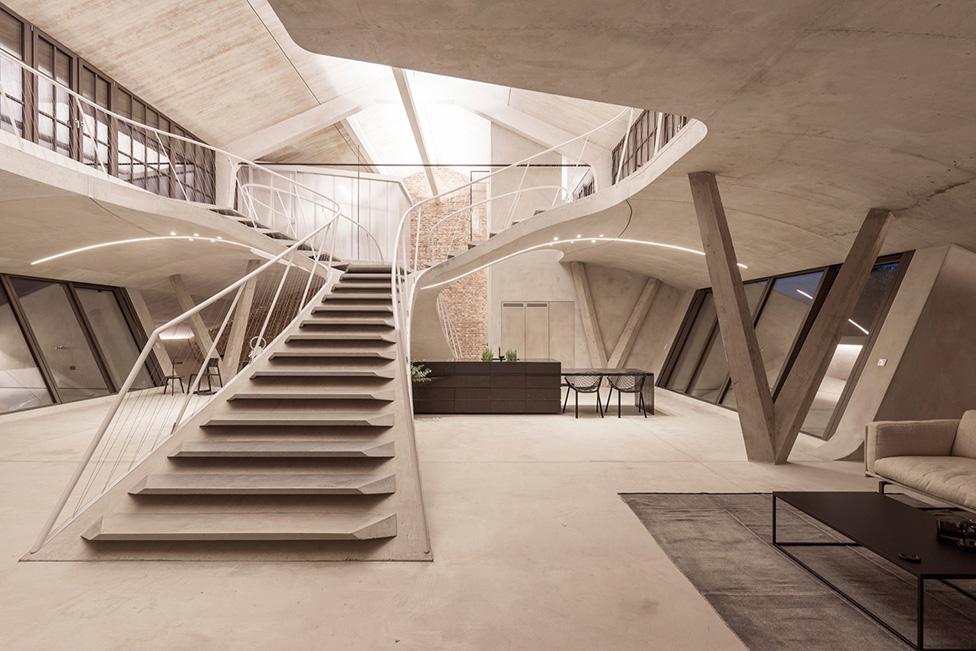 Лофт в Зальцбурге по проекту Smartvoll Architects