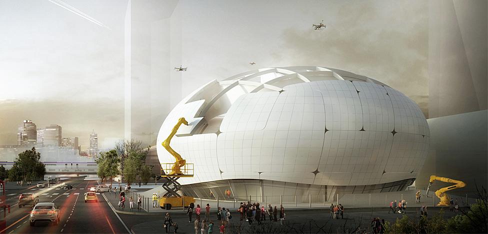 Музей, который построят роботы и дроны