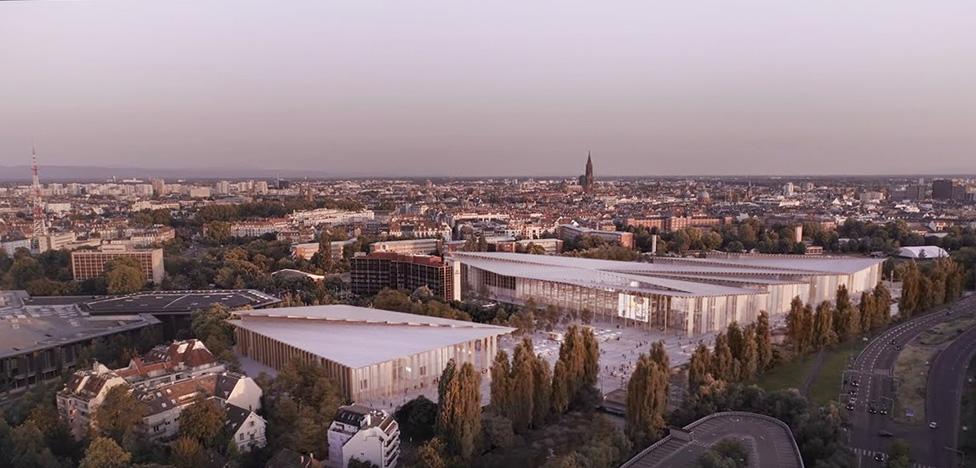 Кенго Кума построит выставочный центр в Страсбурге