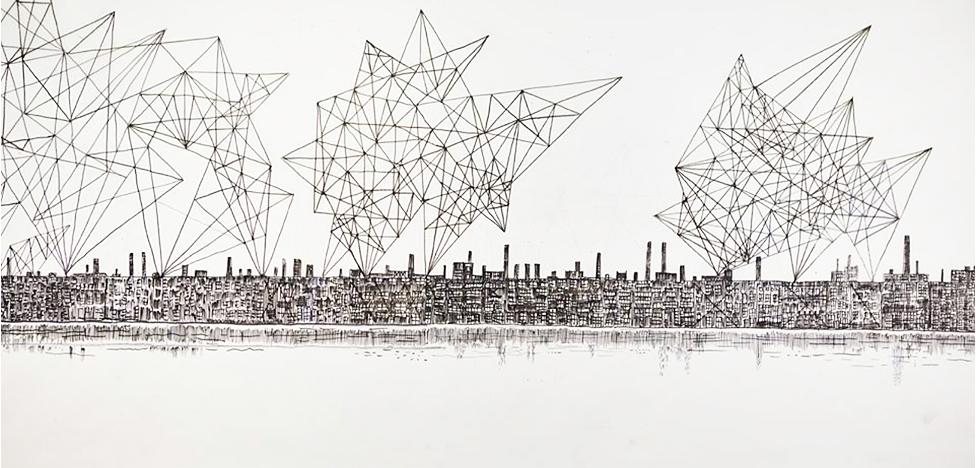 Воображаемый город Александра Бродского в Амстердаме