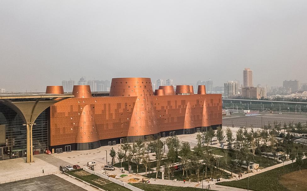 Бернар Чуми завершил строительство грандиозного музея в Китае
