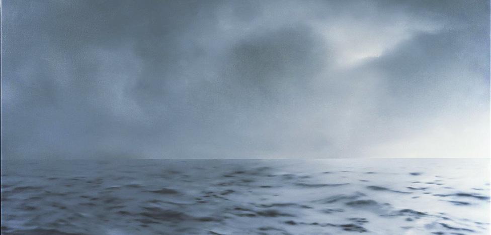 Морские пейзажи Герхарда Рихтера на выставке в Бильбао