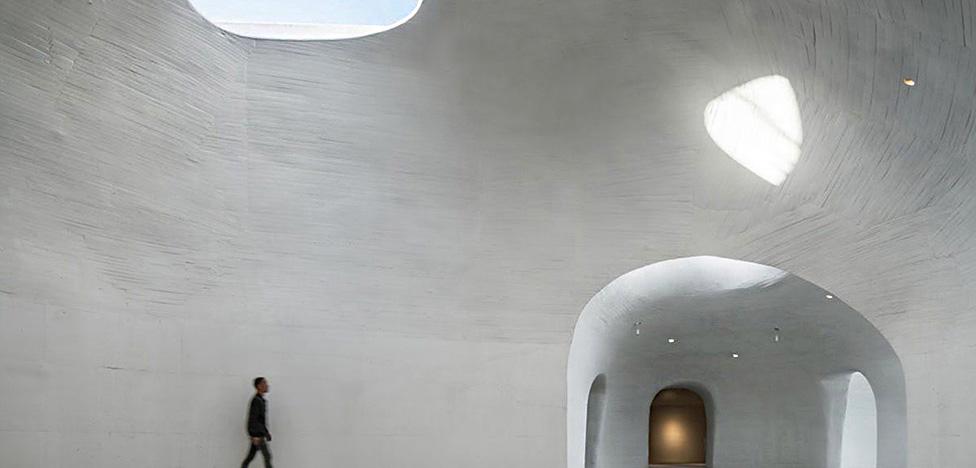 OPEN Architecture: музей в песчаной дюне