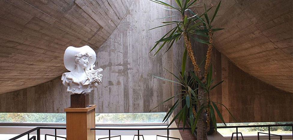 Клод Паран: дом для художницы в Нормандии
