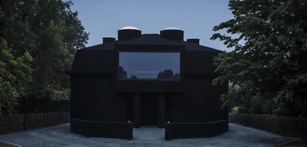 Здание для музея Dhondt-Dhaenens в Бельгии