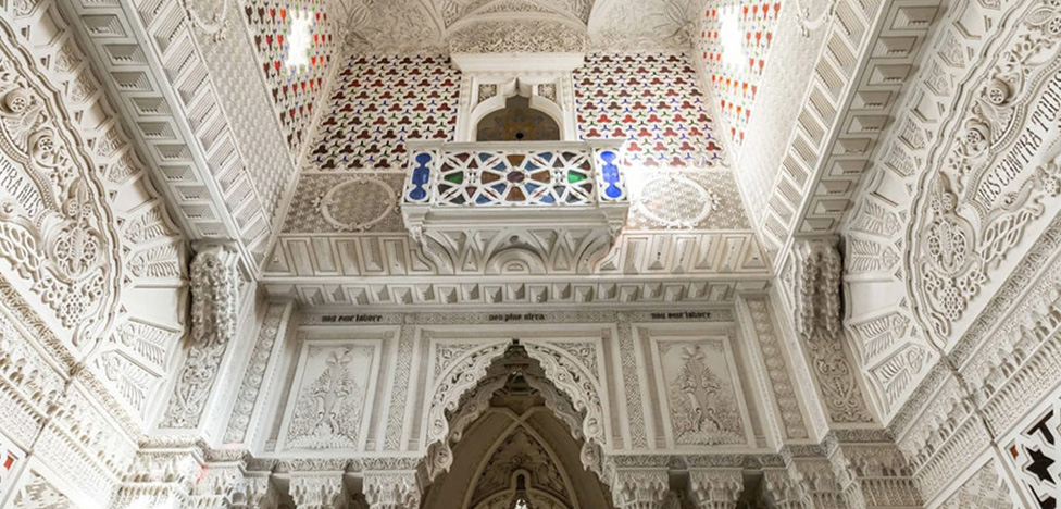 Мавританский замок в Тоскане