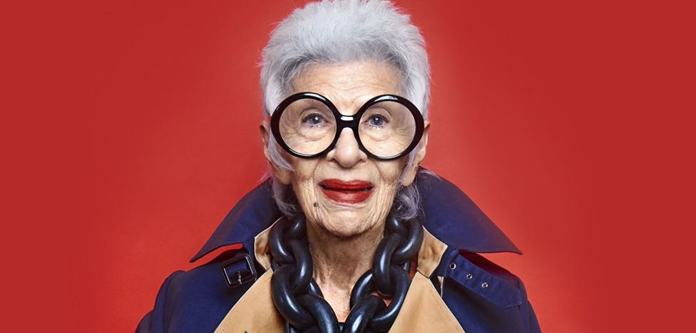 Айрис Апфель стала профессиональной моделью в 97 лет