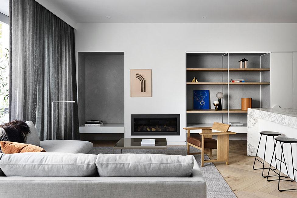 Квартира по проекту Golden: контраст и асимметрия