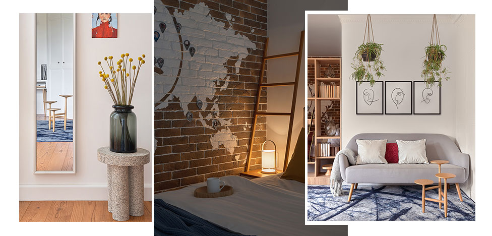 Анастасия Орехова: дизайн квартиры-студии 40 кв. метров за 1,5 млн рублей