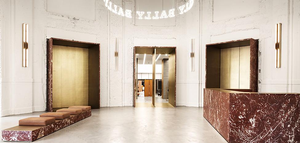 Бутик Bally в Милане по проекту Storage Associati
