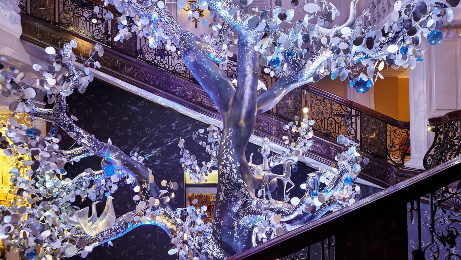 Рождественская елка Дианы фон Фюрстенберг в Claridge's