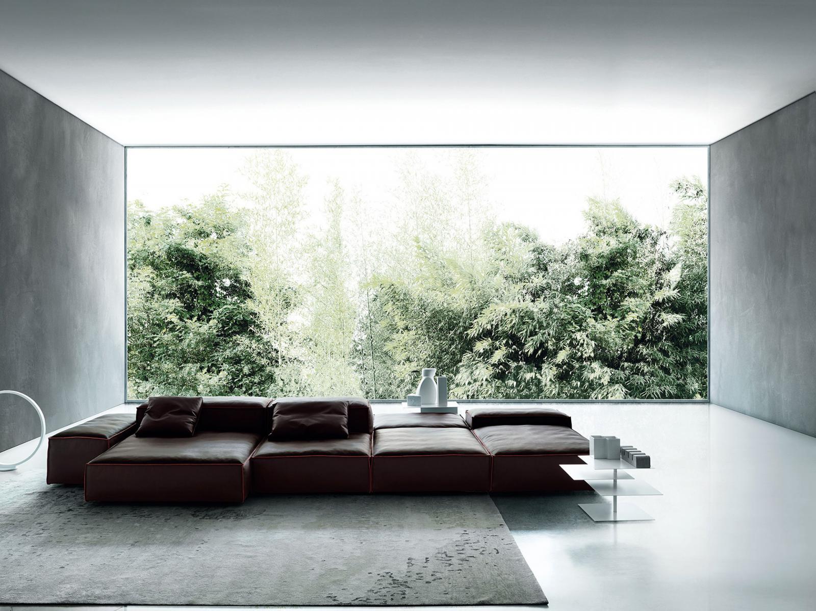 Living Divani: мягкий минимализм made in Italy • Интерьер+Дизайн