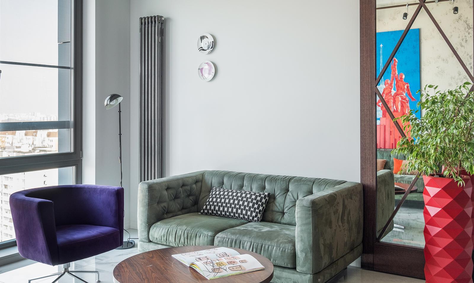 Dvekati: cовременная квартира с элементами ар-деко
