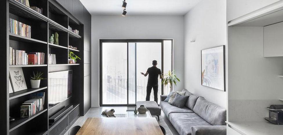 XS Studio: эргономика на 44 кв. метрах