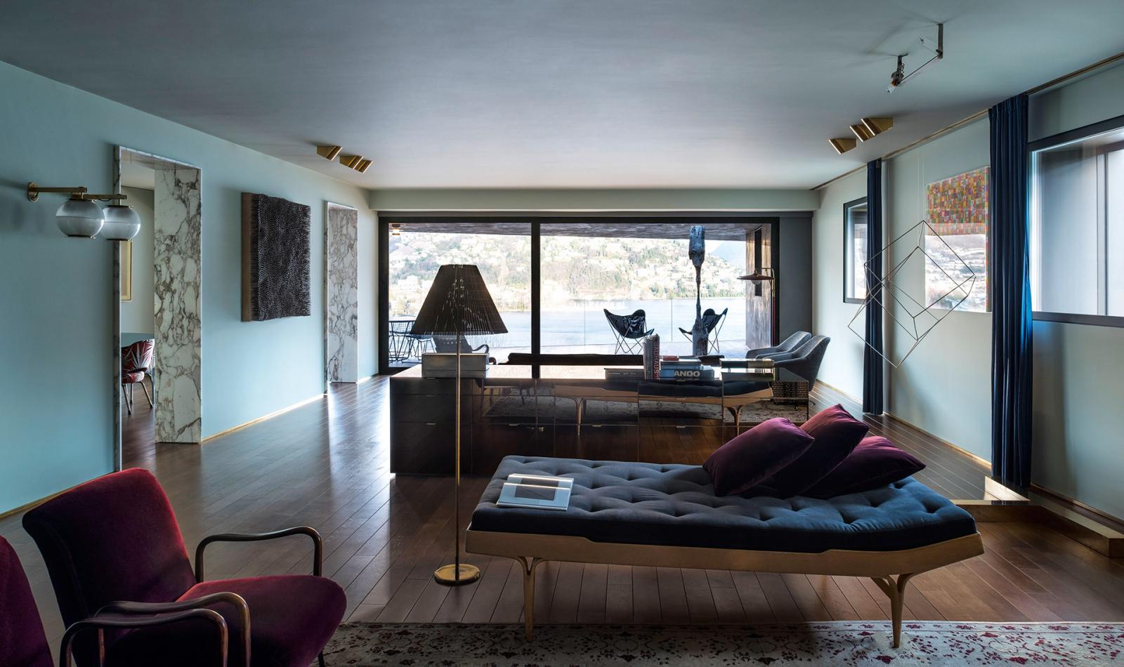 Dimore Studio: дом в Лугано