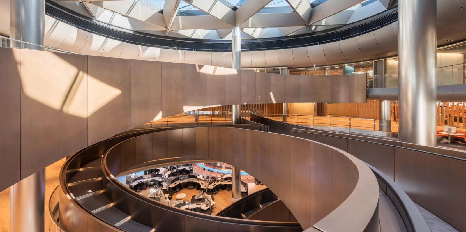 Foster + Partners: самый устойчивый офис в мире