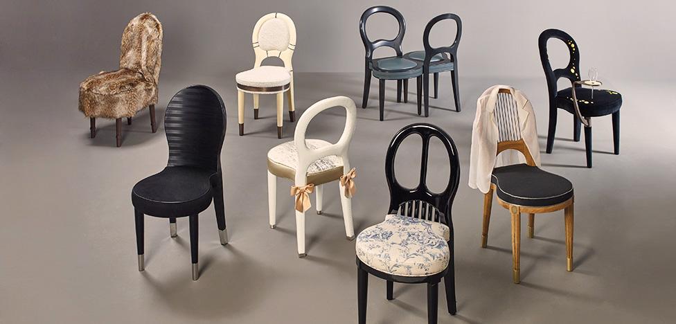 Bilou Bilou: восемь стульев от французских дизайнеров