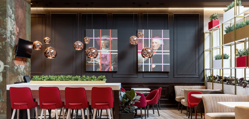 Кофейня в Шереметьево по проекту ONLY design