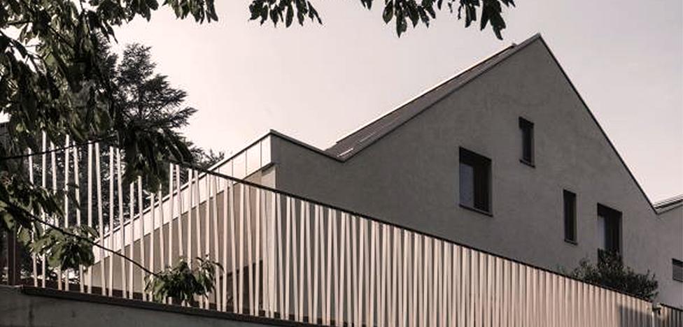Stocker Lee Architetti: три дома в одном