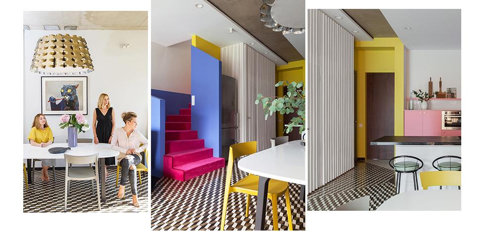 Архитектурная студия dvekati: яркий таунхаус для молодой семьи