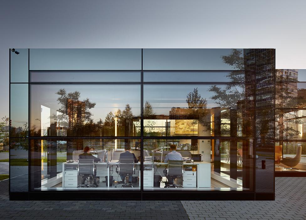 VOX Architects: офис продаж в Екатеринбурге